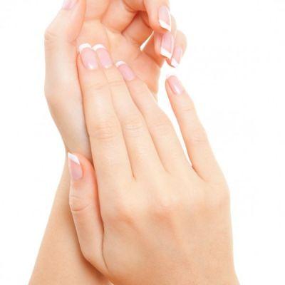 Verzorgende manicure