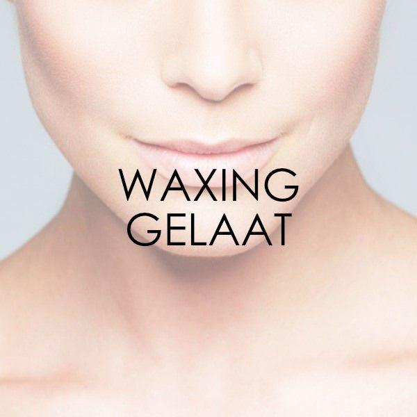 Waxing gelaat