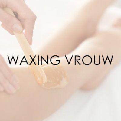 Waxing vrouw