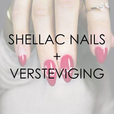 Shellac Nails + versteviging