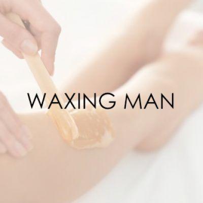 Waxing man