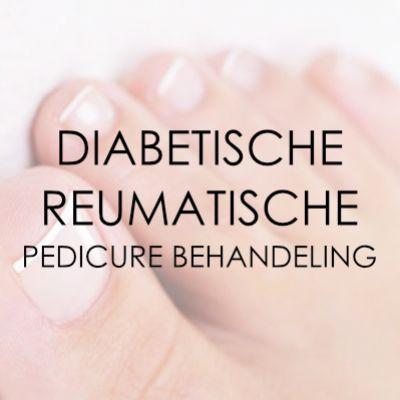 Pedicure behandeling diabetische/reumatische voet